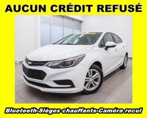 Used 2016 Chevrolet Cruze Lt Bluetooth Cam for sale in St-Jérôme, QC