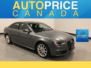 Used 2015 Audi A4 2.0T Progressiv plus S-LINE|NAVI|MOONROOF|LEATHER for sale in Mississauga, ON
