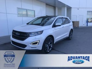 Used 2017 Ford Edge Sport Panoramic Roof for sale in Calgary, AB