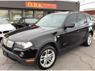 Used 2010 BMW X3 Toit Pano-Camera De for sale in Laval, QC
