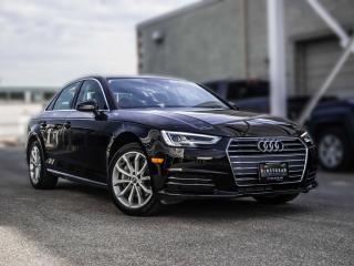 Used 2018 Audi A4 Sedan PROGRESSIV for sale in Toronto, ON