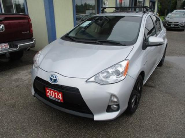 2014 Toyota Prius c LOADED HYBRID EDITION 5 PASSENGER 1.5L - HYBRID ENGINE.. ECO & EV MODE.. LEATHER.. HEATED SEATS.. BACK-UP CAMERA.. POWER SUNROOF.. TOUCH SCREEN..