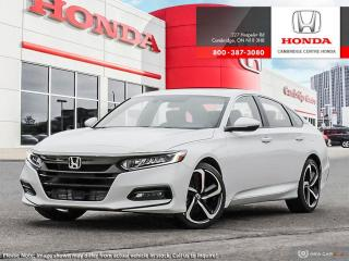 New 2019 Honda Accord Sport 2.0T SPORT 2.0 for sale in Cambridge, ON