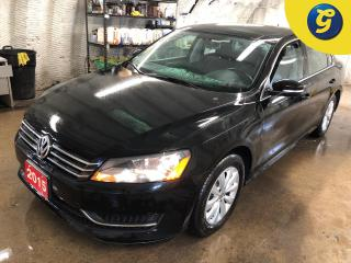 Used 2015 Volkswagen Passat Sport Mode * Reverse camera * Bluetooth Wireless Phone Connectivity * Streaming Audio * Heated front seats * Dual Climate control * Telescopic/tilt st for sale in Cambridge, ON
