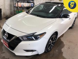 Used 2018 Nissan Maxima SL * 3.5L* Navigation * Dual Panel sunroof * Leather Interior *  Push button start * Sport/Normal mode * Nissan connect touchscreen * Blind Spot Warni for sale in Cambridge, ON