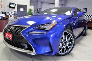 Used 2015 Lexus RC 350 $161.09 WEEKLY! $0 DOWN!  F SPORT!! for sale in Bolton, ON
