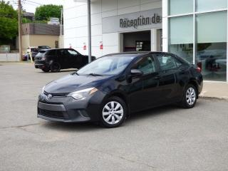 Used 2015 Toyota Corolla LE - Caméra Recul - Sièges Chauffants for sale in Trois-Rivières, QC