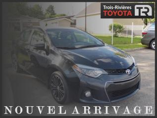 Used 2015 Toyota Corolla S - Auto - Toit - Cuir - Mags - Clim. Au for sale in Trois-Rivières, QC