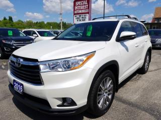 Used 2016 Toyota Highlander XLE 8 PASSENGER !!  NAVIGATION !!  AWD !! for sale in Cambridge, ON