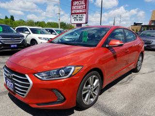 Used 2017 Hyundai Elantra GLS SUNROOF !!  BLUE TOOTH !!  REAR CAMERA !! for sale in Cambridge, ON