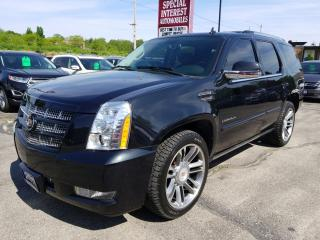 Used 2013 Cadillac Escalade NAVIGATION !!  SUNROOF !!  LEATHER !! AWD !! for sale in Cambridge, ON