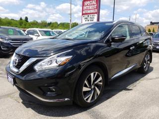 Used 2015 Nissan Murano Platinum NAVIGATION !!  SUNROOF !!  AWD !!  LEATHER !! for sale in Cambridge, ON