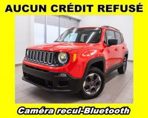 Used 2016 Jeep Renegade 4X4 BLUETOOTH CAMÉRA RECUL *BAS KILOMÉTRAGE* for sale in Mirabel, QC