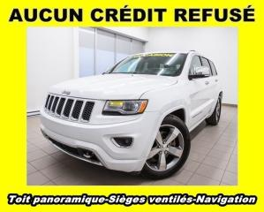 Used 2014 Jeep Grand Cherokee Overland ECO Diesel for sale in Mirabel, QC