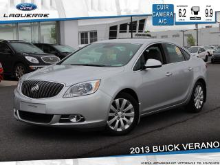 Used 2013 Buick Verano Cuir Camera for sale in Victoriaville, QC