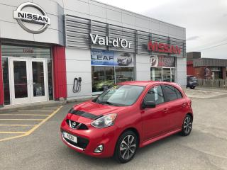 Used 2015 Nissan Micra SR for sale in Val-D'or, QC