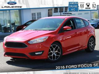 Used 2016 Ford Focus Se Camera Bluetooth for sale in Victoriaville, QC