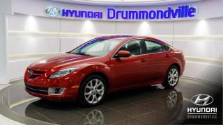 Used 2010 Mazda MAZDA6 GT + MAGS + CUIR + WOW ! for sale in Drummondville, QC