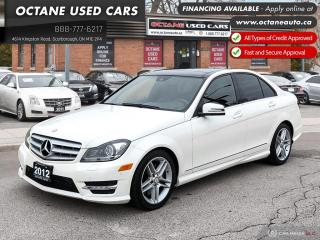 Used 2012 Mercedes-Benz C-Class C 300! Accident Free! for sale in Scarborough, ON