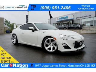Used 2016 Scion FR-S REAR CAM | RWD | TOUCH SCREEN | PADDLE SHIFT for sale in Hamilton, ON
