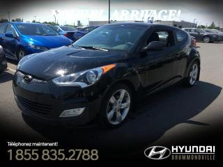 Used 2013 Hyundai Veloster GARANTIE + CAMÉRA + MAGS + A/C + BLUTOOT for sale in Drummondville, QC