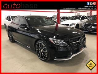 Used 2016 Mercedes-Benz C-Class C450 AMG 4MATIC DISTRONIC AMG STEERING WHEEL LED for sale in Vaughan, ON