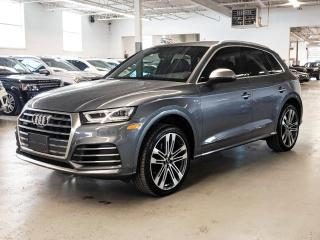 Used 2018 Audi SQ5 SQ5/BANG&OULFSEN SOUND SYSTEM/PANORAMA ROOF/PUSH BUTTON START! for sale in Toronto, ON