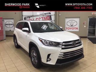 New 2019 Toyota Highlander LIMITED  for sale in Sherwood Park, AB
