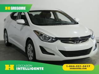 Used 2015 Hyundai Elantra L VITRE ELEC AM FM for sale in St-Léonard, QC
