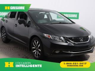 Used 2014 Honda Civic TOURING A/C CUIR for sale in St-Léonard, QC