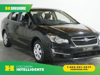 Used 2015 Subaru Impreza 2.0I AWD GR ELEC for sale in St-Léonard, QC