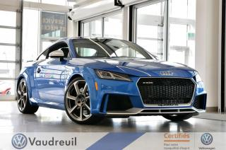 Used 2018 Audi TT RS 2.5 TFSI quattro *** Réservé *** for sale in Vaudreuil-Dorion, QC