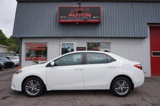 Used 2014 Toyota Corolla LE AUTO TOIT OUVRANT MAGS CAMERA BLUETOOTH 106 746 for sale in Lévis, QC