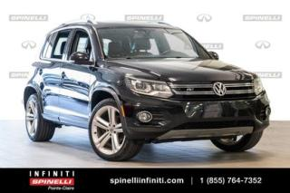 Used 2015 Volkswagen Tiguan HIGHLINE AWD CUIR for sale in Montréal, QC