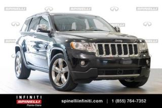 Used 2011 Jeep Grand Cherokee OVERLAND 4X4 CUIR for sale in Montréal, QC