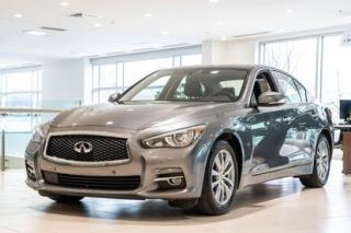 Used 2015 Infiniti Q50 PREMIUM TECH AWD -- CUIR - TOIT - GPS -- BAS KM for sale in Montréal, QC