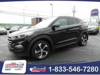 Used 2016 Hyundai Tucson Limited 1.6 L AWD TURBO CUIR/TOIT PANORA for sale in St-Georges, QC