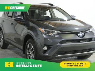 Used 2017 Toyota RAV4 LE HYBRIDE AC GR for sale in St-Léonard, QC