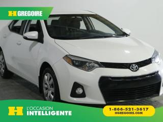 Used 2015 Toyota Corolla S A/C CUIR CAM for sale in St-Léonard, QC