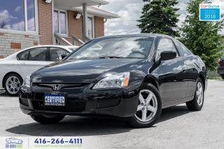 Used 2004 Honda Accord EX-L 2.4L Leather/Roof Coupe 49k CeritifedServiced for sale in Bolton, ON