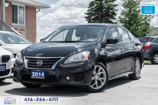 Used 2014 Nissan Sentra SR TECH 1 OWNER NAVI RCAM SUNROOF CERTIFIED CLEAN for sale in Bolton, ON