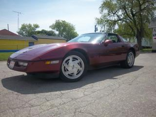 Used 1988 Chevrolet Corvette for sale in Oshawa, ON