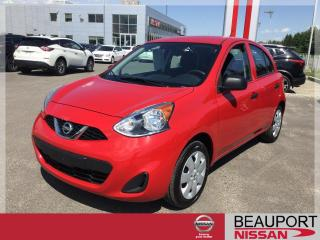 Used 2017 Nissan Micra 1.6 S ***23 000 KM*** for sale in Beauport, QC
