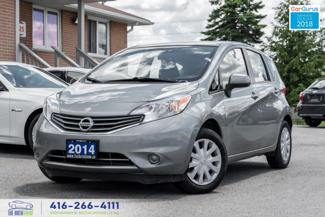 2014 Nissan Versa Note 1 Owner Clean Carfax Certified Serviced We Finance