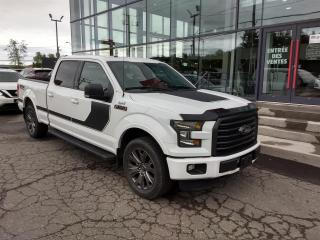 Used 2016 Ford F-150 FX4 SPORT 4X4 CREW CAB CAMÉRA MAIN LIBRE for sale in Lévis, QC