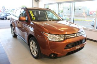 Used 2014 Mitsubishi Outlander ES AWD PREMIUM TOIT CAMÉRA CUIR for sale in Lévis, QC