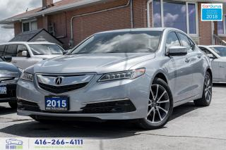 Used 2015 Acura TLX SH AWD 1 Owner CleanCarfax Warranty Certified Mint for sale in Bolton, ON
