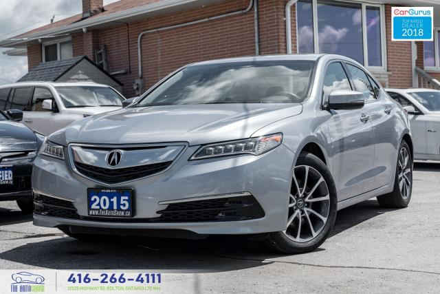 2015 Acura TLX SH AWD 1 Owner CleanCarfax Warranty Certified Mint