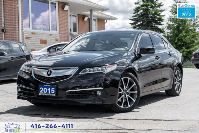 2015 Acura TLX ELITE SH-AWD V6 1Owner Certified Serviced Warranty