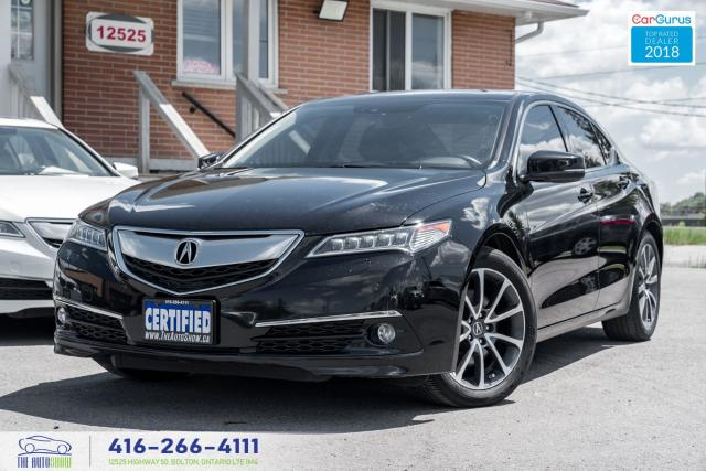 2015 Acura TLX ELITE*V6*SHAWD 1ownerCleanCarfax CertifiedServiced